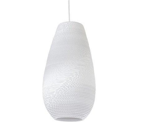 Graypants Hanglamp Drop 18 Pendant wit karton Ø25x45cm