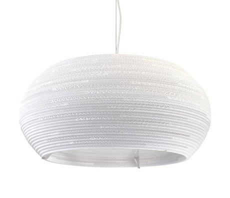 Graypants Ohio 24 Pendentif lampe carton blanc Ø61x24cm