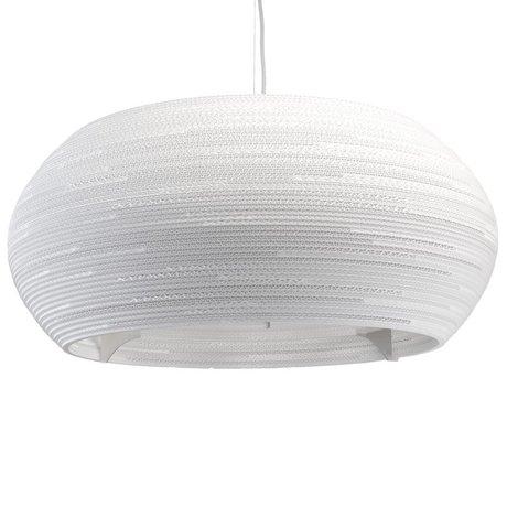 Graypants Ohio 32 pendant lamp Pendant white cardboard Ø82x33cm