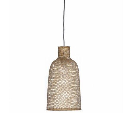 Ay Illuminate Bamboo Suspension M2 naturelle ø30x55cm de bambou brun