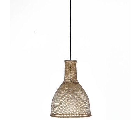 Ay Illuminate Hanging Lamp Bamboo M3 natural brown bamboo ø35x47cm