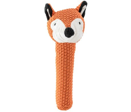 Bloomingville Hug Cyril Fox Squirrel red / orange lambswool 37cm - Copy