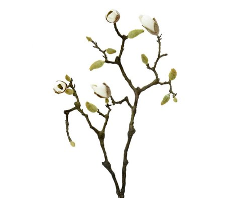 HK-living Decoration blooming magnolia branch 83cm