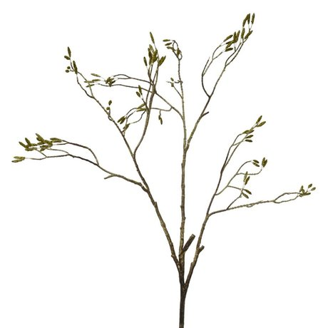 HK-living Decoration hazel catkins branch 107cm