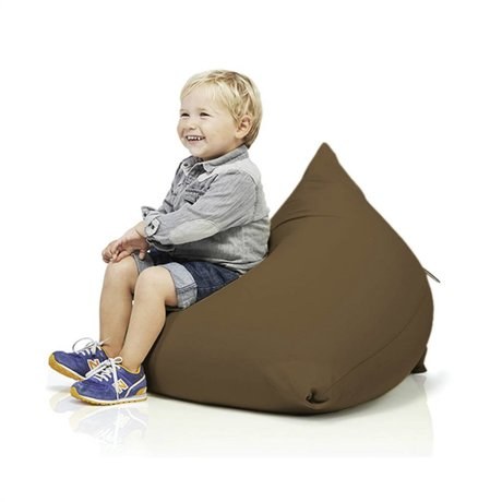 Terapy Beanbag Sydney pyramid brown cotton 60x60x60cm 130liter