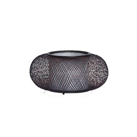 Ay Illuminate Lampe de table Twiggy G Grande Ø40x19cm de bambou brun naturel