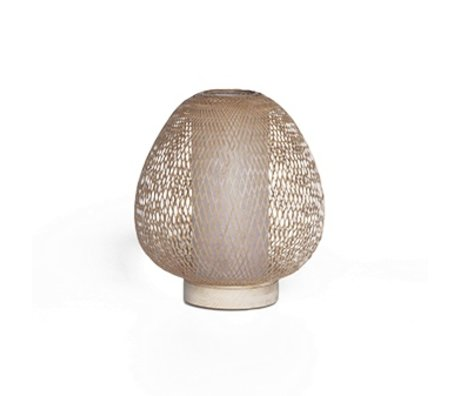 Ay Illuminate Table Lamp Twiggy AW natural brown bamboo Ø30x35cm