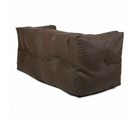 BRYCK Lounge Sofa Couch Brown Terre Brown textile 175x75x75cm