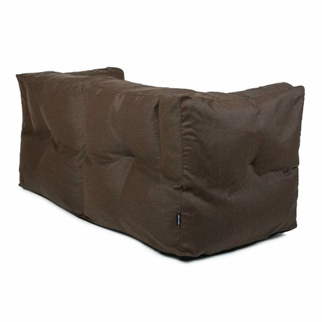 BRYCK Lounge-Sofa-Couch Brown Earth Brown Textil 175x75x75cm