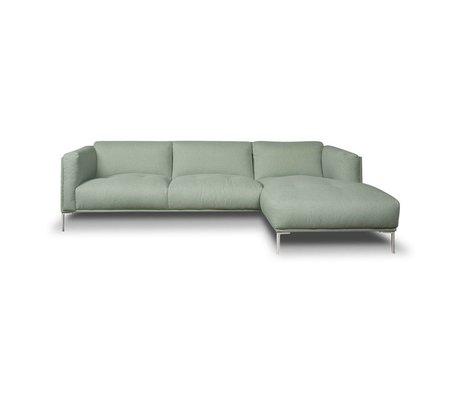 I-Sofa Encoignures Oliver menthe textile vert 251x85x74cm