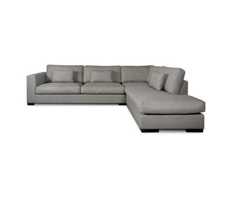 I-Sofa Coin canapés Harpo textile gris 300x225x80cm