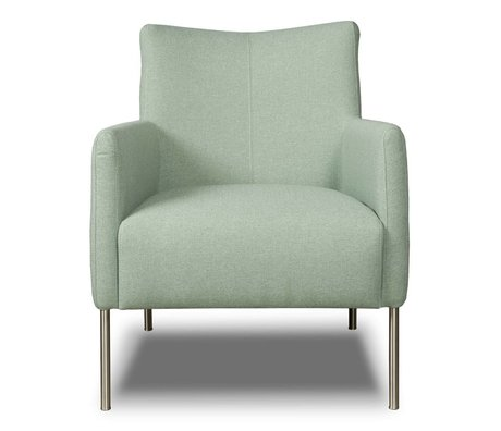 I-Sofa Sessel Nora mintgrün Textil 77x67x79cm