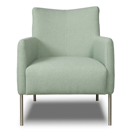 I-Sofa Fauteuil Nora vert menthe textile 77x67x79cm