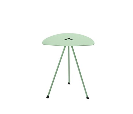 Tristan Frencken Side Table Table Are mint green aluminum 45x38x38cm