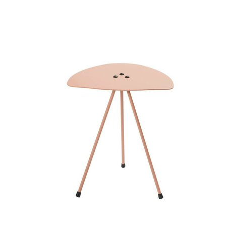 Tristan Frencken Side Table Table Are Blush pink aluminum 45x38x38cm
