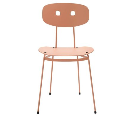 Tristan Frencken Dining chair Dining Are Blush pink aluminum 45x38x84,5cm