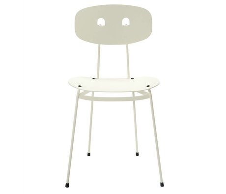 Tristan Frencken Dining chair Dining Are Milk white aluminum 45x38x84,5cm