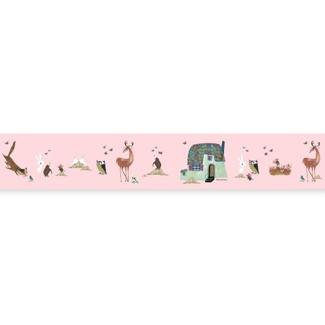 KEK Amsterdam Bra Grand Fiep Westendorp Forest Animals pink 16x500cm