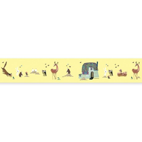 KEK Amsterdam Bra Grand Fiep Westendorp Forest Animals yellow 16x500cm