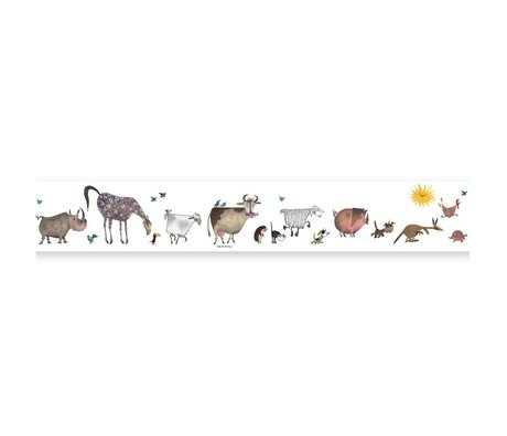 KEK Amsterdam Bra Grand Fiep Westendorp Animal Parade multicolor 16x500cm