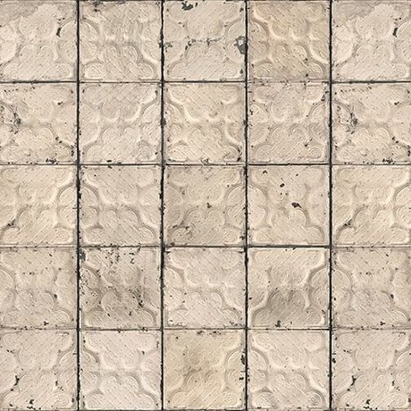 NLXL-Merci Tegel behang Brooklyn Tins Tin-03