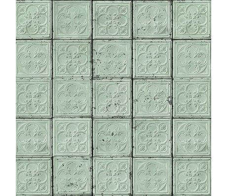 NLXL-Merci Tile wallpaper Brooklyn Mint Tins Tin-05
