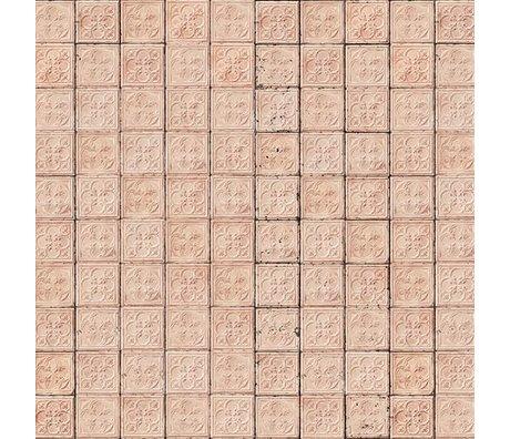 NLXL-Merci Tile wallpaper Brooklyn Tin Tins pink-06