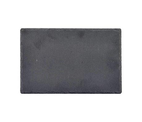 Nicolas Vahe Blackboard slate gray 28x18x0,8cm (set of 6)