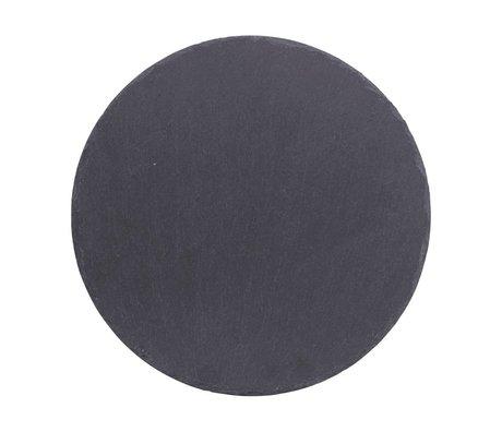 Nicolas Vahe Gray slate plate ø25cm (set of 6)