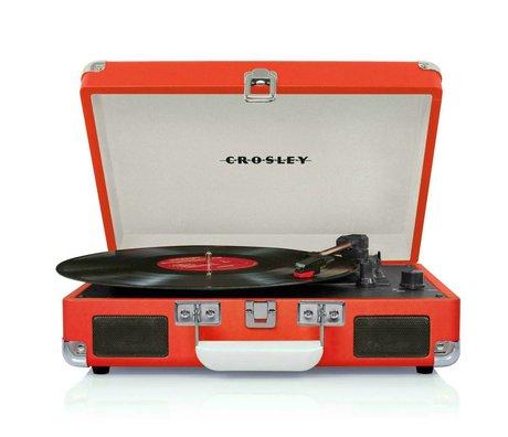 Crosley Radio Crosley Cruiser oranje rood 26,7x35,6x11,8cm