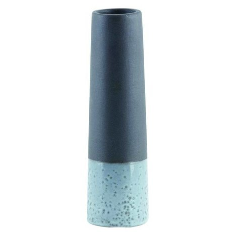 Housedoctor Vase 'Tube XS' black gray concrete Ø6x20cm