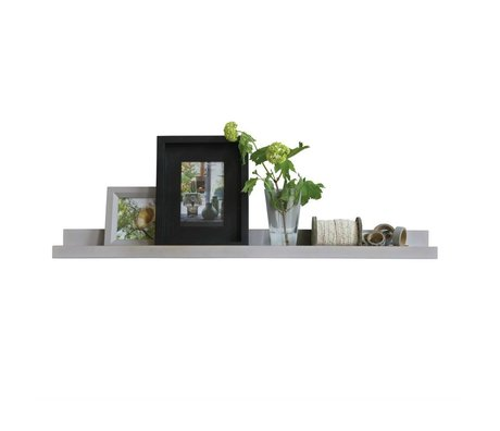 LEF collections Frame gray plank wood 80cm