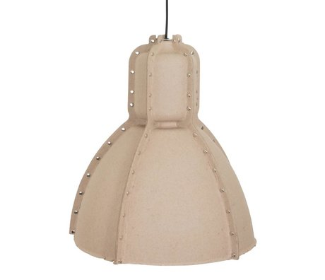 Anne Lighting Pulp Fiction Pendelleuchte beige braun Karton ø42x49cm