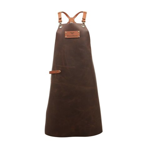 Ramshorn Apron Casual Cross brown leather