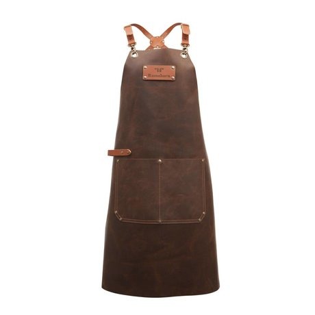 Ramshorn Apron Casual Cross With Bag brown leather