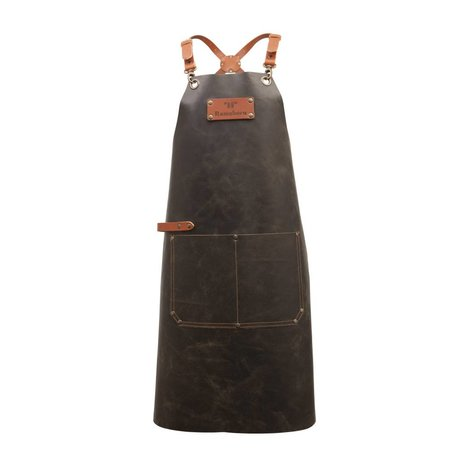 Ramshorn Apron Casual Cross With Bag black leather