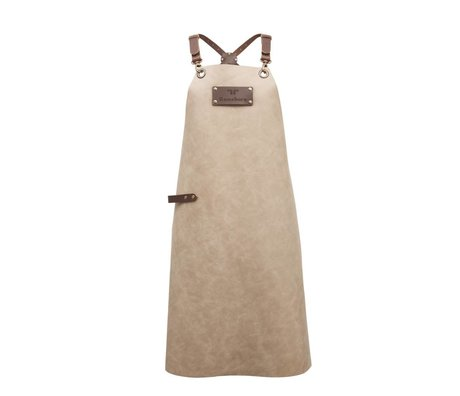 Ramshorn Apron Casual Cross beige brown leather