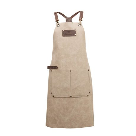 Ramshorn Apron Casual Cross With Bag beige brown leather
