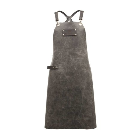 Ramshorn Apron Casual Cross gray leather