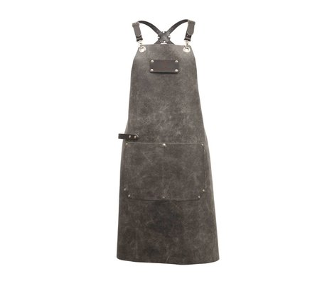 Ramshorn Apron Casual Cross With Bag gray leather