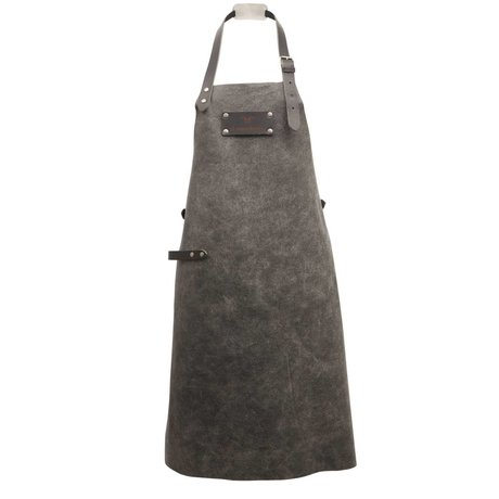 Ramshorn Apron Casual gray leather