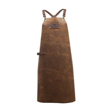 Ramshorn Apron Casual Cross cognac brown leather