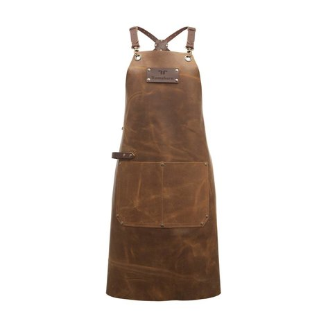 Ramshorn Apron Casual Cross With Bag cognac brown leather
