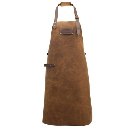 Ramshorn Apron Casual cognac brown leather