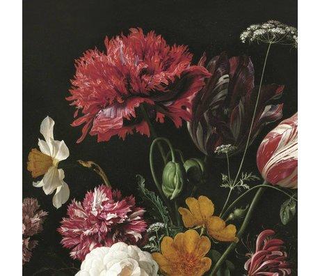 KEK Amsterdam Fond d'écran Golden Age II Fleurs multicolores bande de papier 389,6x280cm