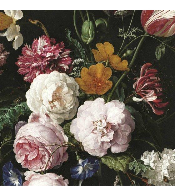 Bekend KEK Amsterdam Behang Golden Age Flowers III multicolor vliespapier  @RI21