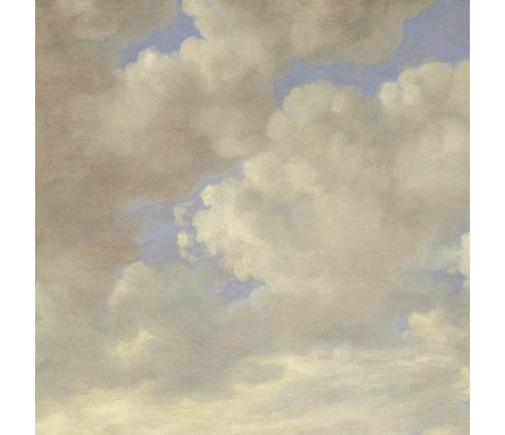 KEK Amsterdam Wallpaper Golden Age Clouds II multicolor paper web 389,6x280cm