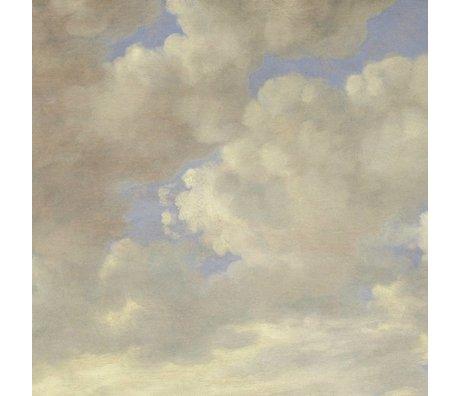 KEK Amsterdam Wallpaper Golden Age Wolken II Mehrfarbenpapierbahn 389,6x280cm