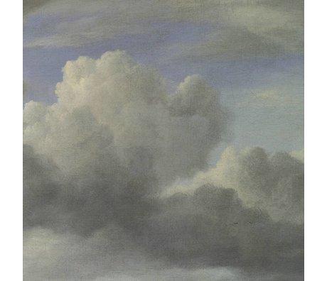 KEK Amsterdam Wallpaper Golden Age Wolken III mehrfarbige Papierbahn 292,2x280cm