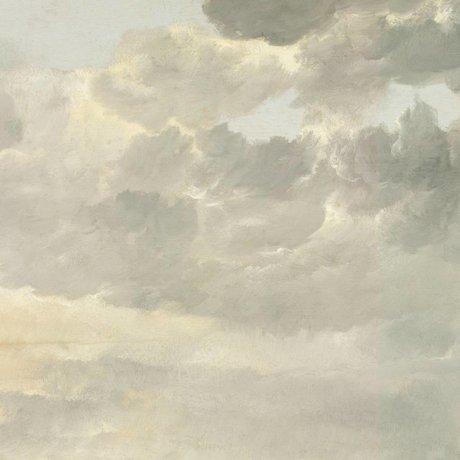KEK Amsterdam Wallpaper Golden Age Wolken ich mehrfarbige Papierbahn 292,2x280cm